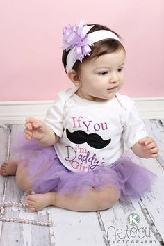 Mustache Baby Girl Clothes one piece girl outfit by LilMamas, $19.90
