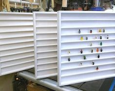 Handcrafted Hardwood Lego Display Case for by AyrowStudios on Etsy