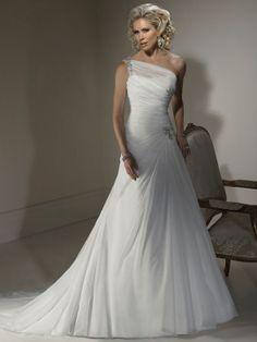 Amanda-Vestido de Noiva em organza - dresseshop.pt
