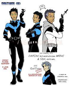 Mar'ik Son of Damian and Mar'i wayne