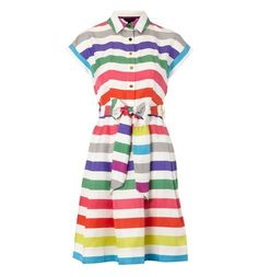 You can taste summer just looking at this one! Carnival Dress #hobbs
