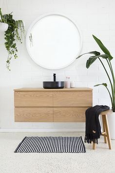 Shop our range of timber bathroom vanities. Visit our bathroom display centre today at 23 Kayleigh Drive, Buderim. Timber Bathroom Vanities, Timber Vanity, Bathroom Furniture, Bathroom Interior, Bathroom Ideas, Bathroom Designs, Wood Bathroom, Grey Bathrooms, Bathroom Cabinets