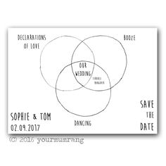 quirky save the date