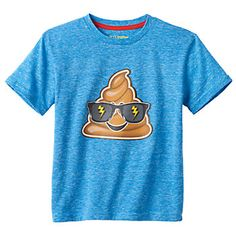 I never expected to be ok with my kids wearing poop. :-) [Kohls]
