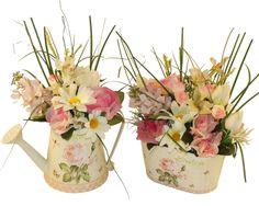 """Garden"" si liliac roz 1 si 2 - Aranjament cu flori artificiale"