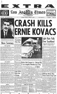 Death takes Walt Disney newspaper article :( | Final Headline ...