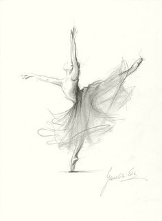 Limited Edition 8 x 11 print on WHITE PAPER of by EwaGawlik, $9.00  Perfect print for a grown up ballerina girl, not too childlike.