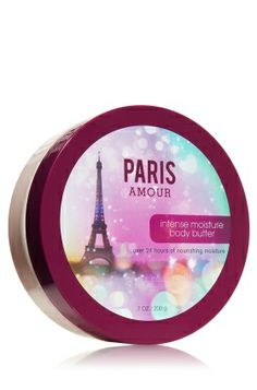 Paris Amour Intense Moisture Body Butter - A dreamy blend of French tulips and sparkling pink champagne. <3  #LUVBBW