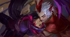 League of Legends - Xayah & Rakan