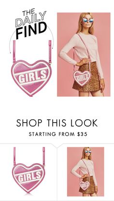 """""""The Daily Find: Skinnydip Girls Bag"""" by polyvore-editorial ❤ liked on Polyvore featuring DailyFind"""