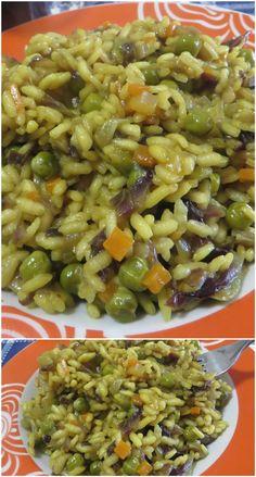 Rice Recipes, Pasta Recipes, Cooking Recipes, Healthy Recipes, Italian Cooking, Italian Recipes, Rice Pasta, Arancini, Pizza