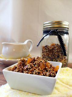 Quinoa & Pumpkin Seed Granola from The Little Yellow Kitchen