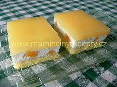 Žravé řezy Dairy, Pudding, Cheese, Food, Hampers, Custard Pudding, Essen, Puddings, Meals
