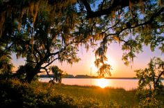 Saint Simons Island GA, Sunset Photography