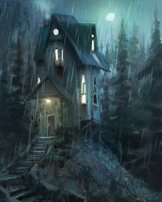 Night House | Marco Bucci Art Store