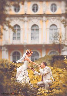 Spectacular wedding in Russia.