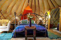 Yurt cabin! www.yurtholidayportugal.com