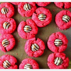 Pink zebra cookies from crafting rebellion. :)