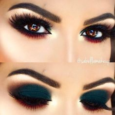 24 Pics with Makeup Steps to Enhance your Hooded Eyes ★ Party Smokey Makeup for Hooded Eyes picture 3 ★ See more: http://glaminati.com/hooded-eyes-makeup/ #makeup #makeuplover #makeupjunkie #hoodedeyes