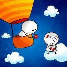 Risultati immagini per bigli migli wallpaper Cute Cartoon Wallpapers, Cartoon Pics, Cartoon Drawings, Easy Drawings, Baby Cartoon, Love Feeling Images, Emoji Love, Bee Creative, Funny Anniversary Cards