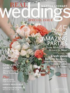 GOOD THINGS :: Martha Stewart Weddings Fall 2013