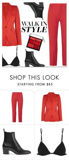 """""""Kick It: Chelsea Boots"""" by danielle-487 ❤ liked on Polyvore featuring Alexander McQueen, Christian Louboutin, IRO and chelseaboots"""