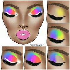 Discovered by Find images and videos about beauty, art and aesthetic on We Heart It - the app to get lost in what you love. Makeup Eye Looks, Eye Makeup Steps, Eye Makeup Art, Dark Skin Makeup, Colorful Eye Makeup, Beautiful Eye Makeup, Blue Eye Makeup, Eyeshadow Makeup, Arabic Makeup