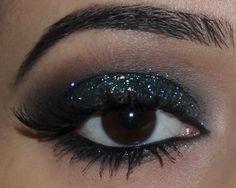Glitter Eyes | Tutorial Smokey Eyes com Glitter | Dicas de Maquiagem com Glau Arruda