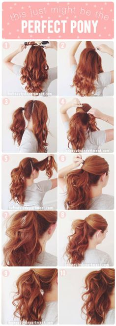 9 sassy party hair tutorials you should steal from Pinterest