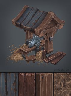 Wood Cabin on Behance