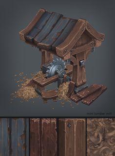 Wood Cabin on Behance