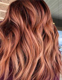 24 Hottest Dark Auburn Hair Color Ideas of 2019 - Style My Hairs Dark Purple Hair, Red Ombre Hair, Hair Color Auburn, Auburn Hair, Red Hair Color, Hair Color Balayage, Pink Hair, Dark Strawberry Blonde Hair, Hair Color For Women