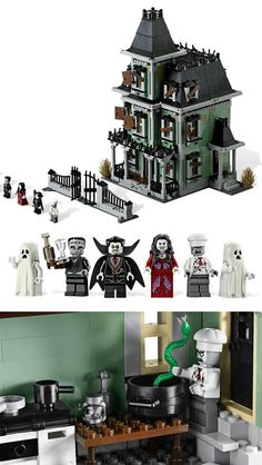 Lego Haunted House $179