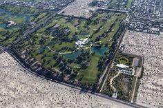 Sunnylands - View of the estate of the late Walter and Leanore Annenberg in Rancho Mirage, CA.  Tours open to the public.
