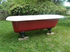Extraordinary Extra Long 75 Claw foot Tub in Very Good Condition