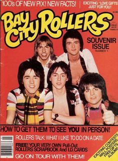 Bay City Rollers Souvenir Issue.I loved Woody & Eric.Please check out my website thanks. www.photopix.co.nz