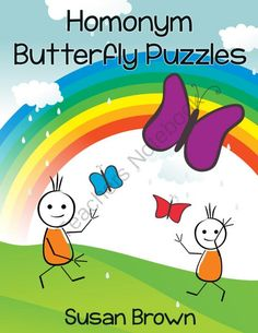 Homonym Butterfly Puzzles from Warm Hearts Publishing on TeachersNotebook.com -  (20 pages)  - Homonym Butterfly Puzzles is a printable pack that offers your students an enjoyable way to practice their reading and vocabulary skills.