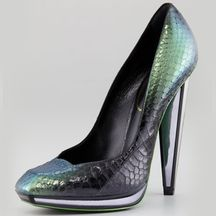 #Snakeskin #YvesSaintLaurent #Pumps Just save this image and add it to your closet! http://wishi.me/?utm_source=Items_medium=Pinterest_campaign=StyleIt
