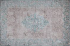 AMIRAL GREEN Tapis fait main by EDITION BOUGAINVILLE