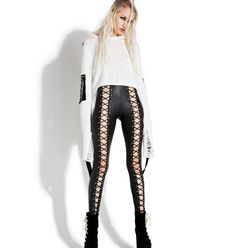 0ee14ab3c4 Current Mood Nancy Corset Leggings Black Corset