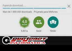 """Play Store fica """"Fazendo download"""" mas não carrega (Download pendente) -..."""