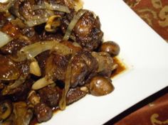 Braised Oxtail Crock Pot | Braised Oxtails With Mushrooms And Onions Recipe from CDKitchen.com
