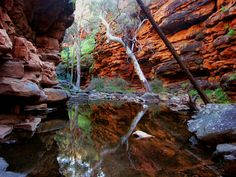 Alligator Gorge in the Southern Flinders Ranges near Wilmington in Australia