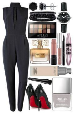 """""""nice"""" by anja-104 on Polyvore featuring Plakinger, Christian Louboutin, Movado, Spring Street, BERRICLE, Butter London, Maybelline, Stila, Givenchy and Arbonne"""