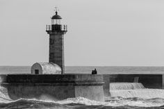 Farolim - Lighthouse at Foz do Douro