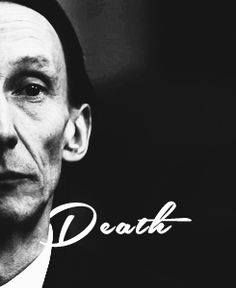 Death. So excited for him to come back :D