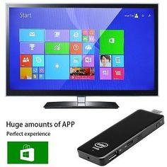 Microsoft Windows 8.1 OS TV Stick - Quad-Core CPU, 2GB RAM, 32GB Internal wifi