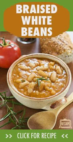 You can see how thick, rich, and creamy this white chicken chili recipe is. White chili recipes vary and some contain pork or beef, but chic. White Bean Chili, White Bean Soup, White Chicken Chili, White Beans, Bean Chilli, The Chew Recipes, Chili Recipes, Cooking Recipes, Dinner Recipes