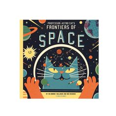 Flying Eye Books Professor Astro Cats Frontiers Of Space Book: Professor Astro Cat's Frontiers of Space will tell you everything you need to know about our planet, our solar system, our galaxy and the universe that there could be to know. Our clever little cat has made sure of that, he's a fastidious little feline! Beautifully illustrated by Ben Newman. Astro Cat explores topics such as gravity, extra terrestrial life and time with fun facts and fascinating insights that will take you and…