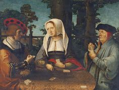 The Athenaeum - The Card Players (Lucas van Leyden - )